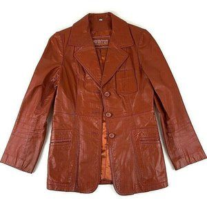Women's Chic Nordstrom's Leather Jacket